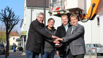 Adelsdorf hat die Straßenbeleuchtung auf LED-Technologie umgestellt