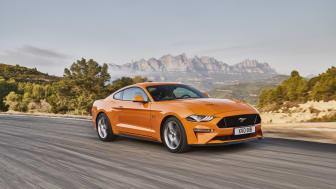 Nya Ford Mustang.
