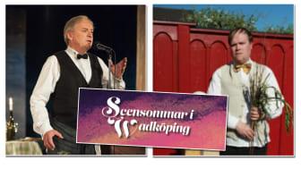 Stefan Jansson och Magnus Wetterholm på Scensommar i Wadköping