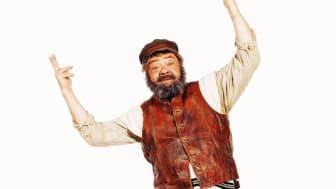 Tommy Kenter som Tevye, af fotograf Niels Ditlev