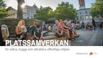 Stiftelsen Tryggare Sverige och Svenska Stadskärnor lanserar en ny trygghetsmodell för platssamverkan