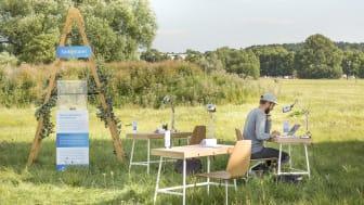 Jobba dig friskare på Sveriges första mobila utomhuskontor
