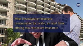 Your moral obligation to claim timeshare compensation