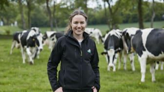 Arla Landwirtin Marlen Biss aus Schleswig-Holstein