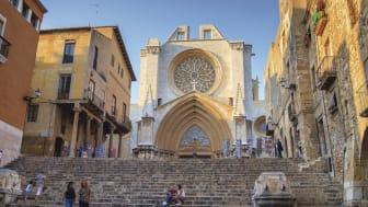 Hamnen i Tarragona, ett resmål för kryssningsturismen