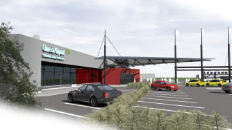 Pressinbjudan till start av ombyggnation Umeå Airport