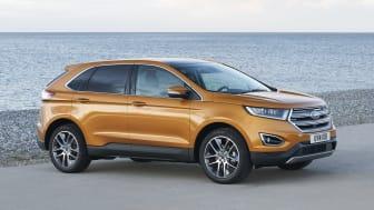 Nye Ford Edge har sin Europa-debut på den internasjonale bilutstillingen i Frankfurt.
