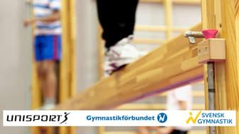 Unisport och Gymnastikförbundet samarbetar för att utveckla skolgymnastiken