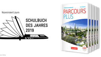 Nominiert zum Schulbuch des Jahres: Parcours Plus
