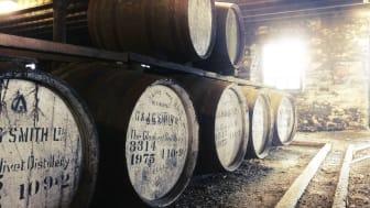 The Glenlivet Destillerie - Fasslagerung in der Speyside