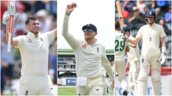 Dom Sibley, Dom Bess and Zak Crawley have all starred in England's Test tour of South Africa
