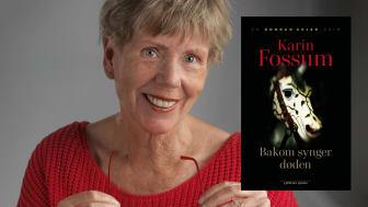 Karin Fossum er en av Europas mest bejublede krimforfatter. Med sin dype psykologiske innsikt har hun gjort Konrad Sejer-serien til allemannseie. (Foto: Arild Sønstrød)