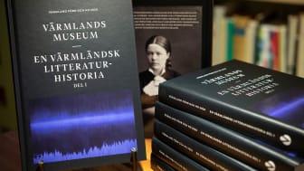 En värmländsk litteraturhistoria är just en värmländsk litteraturhistoria, en bland många möjliga. Den handlar om hur Värmland gestaltats och skrivits fram litterärt. Foto: Lars Sjöqvist, Värmlands Museum. .