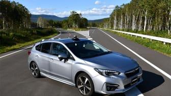 SUBARU Impreza SPORT er en af de biler, der vil blive benyttet til det ambitiøse udviklingsarbejde, som i 2030 skal sikre, at ingen mister livet i trafikuheld, der involverer en ny SUBARU.