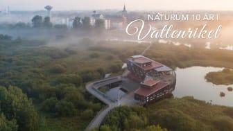 På fredag 27 november är det tio år sedan naturum Vattenriket slog upp dörrarna för första gången.