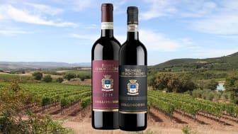 Rosso Di Montalcino D.O.C. 2014 og Brunello Di Montalcino D.O.C.G. 2012 fra Tenuta de Collosorbo