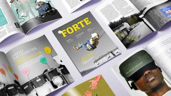 I det här numret av Forte Magasin kan du läsa om ett antal av de många viktiga forskningsfrågor där Forte bidrar med finansiering.