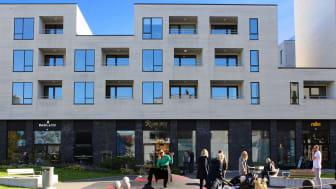 LINK arkitektur er sammen med Rambøll landskap nominert til Stavanger kommunes byggesakspris for lokalsenteret og kvartalsleken i 5 grader Øst.