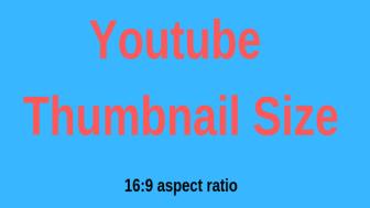 youtube thumbnail größe