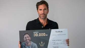 Här är vinnarna av 30/30-fonden – Henrik Lundqvist och Unibets initiativ för att hylla den svenska idrottsrörelsen
