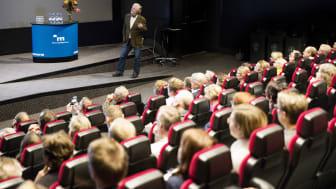 Bostadsministern Peter Eriksson beskriver bostadsmarknadens utmaningar när han inleder Mimerdagen 2017.