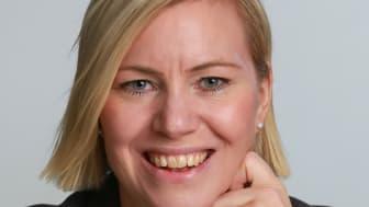 Johanna Hellström blir VD och hotelldirektör för nya Clarion Collection Hotel Tapetfabriken i Sickla. Bild: Nordic Choice Hotels