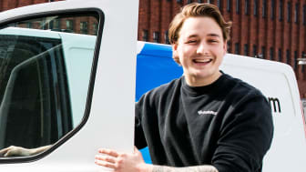 Daniel fick jobb som Låstekniker på SafeTeam efter sin lärlingstid.