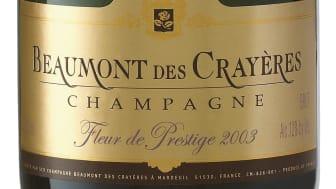 Ny årgångschampagne från Beaumont des Crayères till unikt pris!