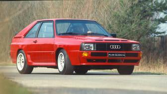 Audi quattro fra 1980
