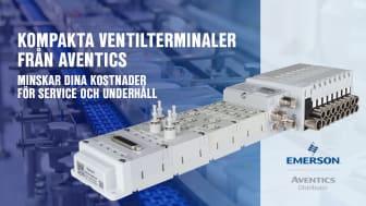 Kompakta ventilterminaler från Aventics