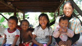 Genom att välja bort rumsstädningen är Nordic Choice Hotels gäster med och stöder UNICEFS arbete mot människohandel i Kambodja.