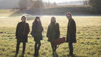 Musikerna till programmet Carte Blanche. Foto Micke Sandström.