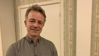 Fredrik Rönn, nyvald kretsordförandeför Centerpartiet Umeå