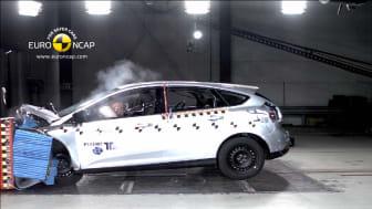 Nya Ford Focus skriver Euro NCAP-historia - Får utmärkelse för avancerad säkerhetsteknik