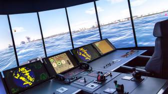 Vid fyra tillfällen under hösten och vintern kommer Sjöfartsverkets och Chalmers fartygssimulatorer i Göteborg kopplas samman med simulatorer i sex andra länder för att testa framtidens digitala fartygstjänster.