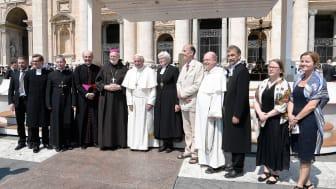 Ekumeniskt möte med påve Franciskus