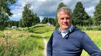 Johan Eriksson, tf vd för Vasaloppet.
