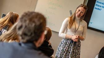Om lag en av fire lærere har opplevd at elever har kommet til dem etter Bruk Hue, og delt sine utfordringer, viser en effektundersøkelse. Foto: Martin Fjellanger