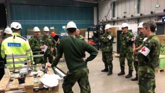 I en ny rapport från Försvarshögskolan undersöker Erik Hedlund och Camilla Lönngren hur den interna och externa samverkan fungerat under bygget av Älvsjö sjukhus. Foto: Erik Hedlund.