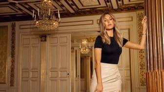 Bianca Ingrosso släpper sin första klädkollektion någonsin och gör det tillsammans med partnern Nelly.com. Foto: Tony Ottosson