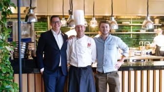 Sebastian Sundling och Matti Cederlund, Clarion Hotel Sign tillsammans med Christoffer Connée, Klimato AB
