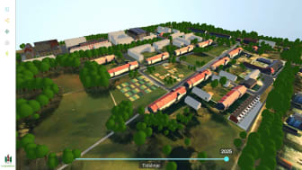 Sege Park 3D-modell år2025