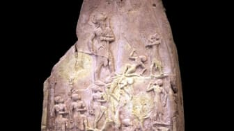 King Naram-Sin of Akkad, grandson of Sargon, leading his army to victory. (Rama / Louvre)