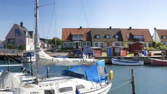 Småbåtshamnen på Råå, Helsingborg.