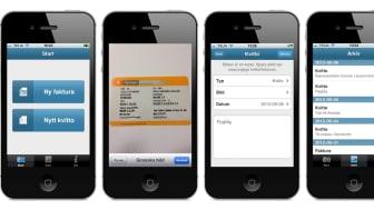 Effektivisera kvittohanteringen med ny app från Visma