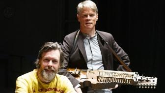 Martin Sturfält och Torbjörn Westman är två av de musiker som medverkar under sändningen från Kalmar Slott.