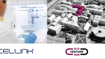 CELLINK etablerar ett forskning- och utvecklingslabb i AstraZenecas BioVentureHub