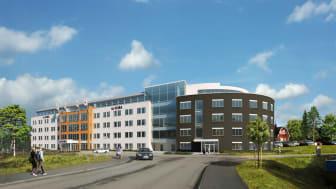 Norrporten bygger ut för Visma i Växjö