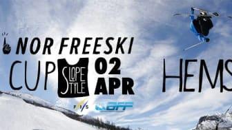 Freeski-sirkuset inntar Hemsedal, lørdag 2. april