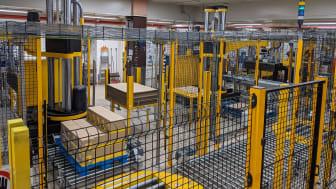 Nová paletizační jednotka v továrně v Lovosicích